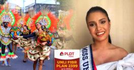 Rabiya Mateo as PLDT Home endorser during Dinagyang.