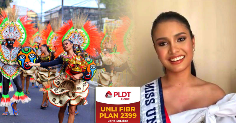 Rabiya Mateo as PLDT Home endorser during Dinagyang.