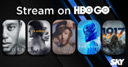 SKY and HBO Go stream movies.