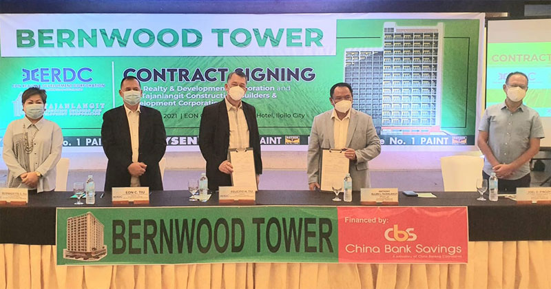 Bernwood Tower Iloilo contract signing.