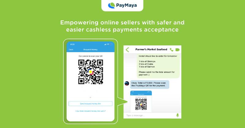 Paymaya payment links and QR Ph