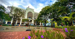 New Plaza Libertad in front of Iloilo City Hall. Photo by Randy Javier Fadrigo.