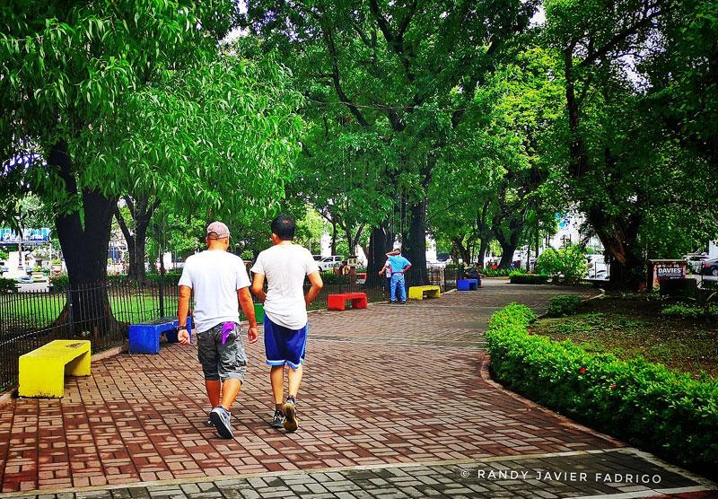 Plaza Libertad walkways
