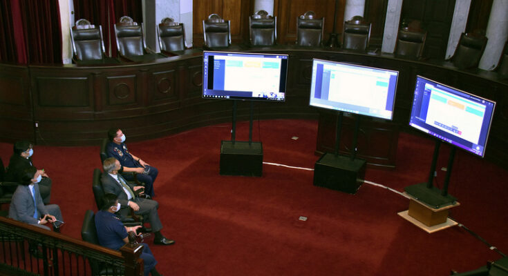 supreme court videoconference hearings