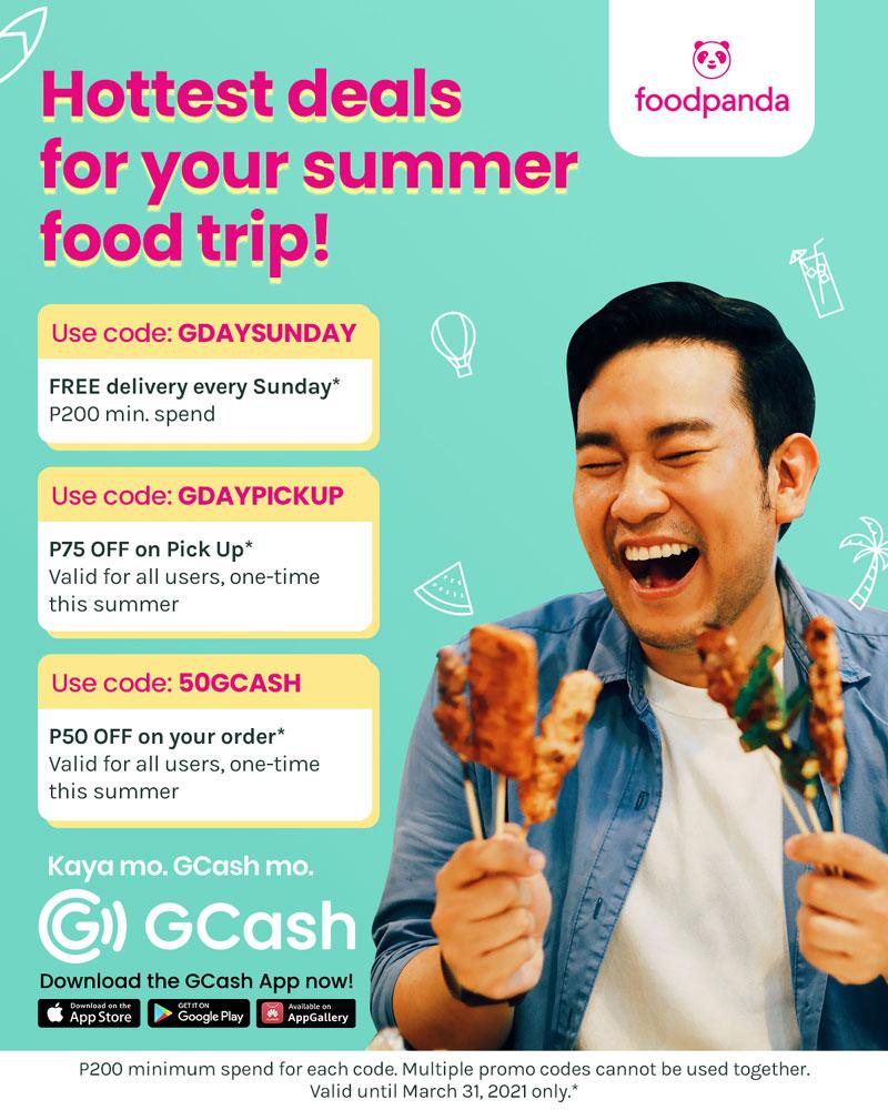 GCash foodpanda vouchers