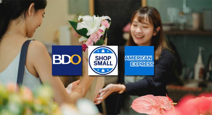 BDO, American Express Shop Small