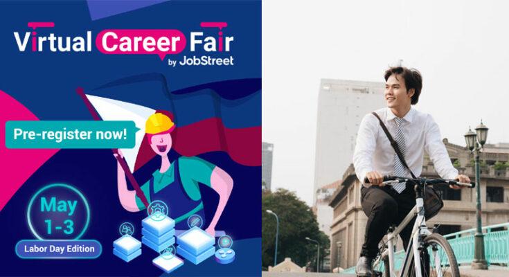 Jobstreet Iloilo microsite and virtual career fair.
