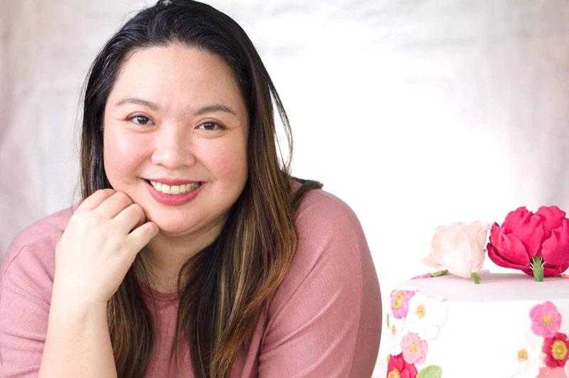 Dana Marie Dizon of Sabie Bakes, SM City Puerto Princesa.