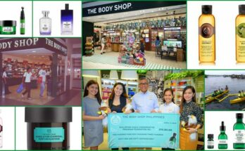 The Body Shop 25th anniversary