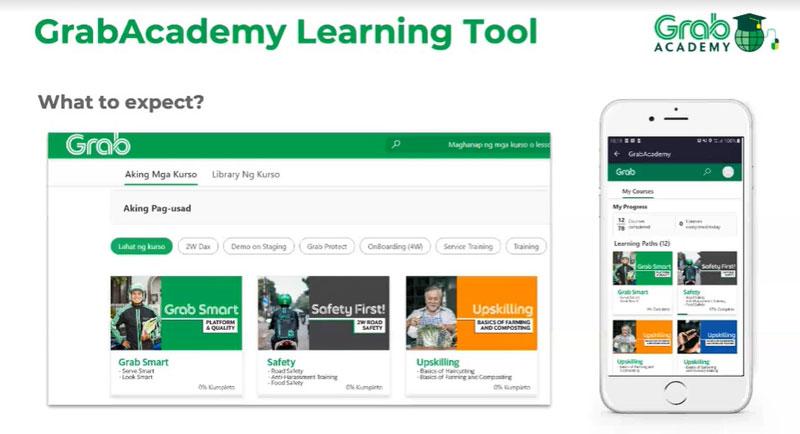 GrabAcademy online portal