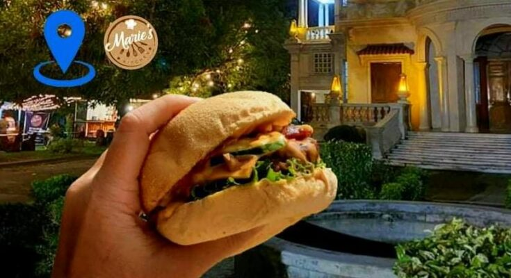 Marie's Kitchen burgers at Molo Mansion