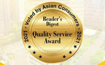 Sun Life Gold Quality Service Award 2021