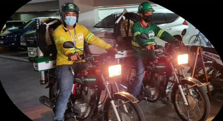 MORE Power quick response riders