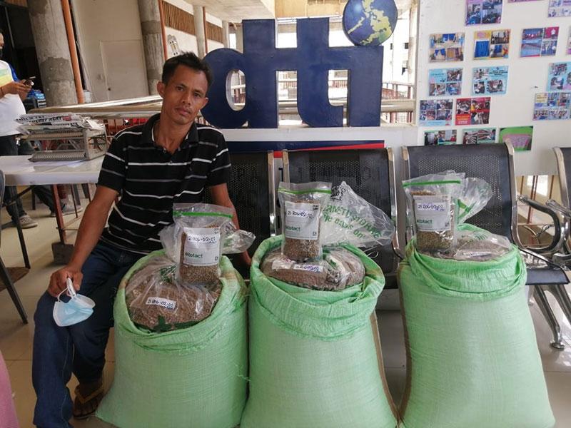 Sibalom coffee farmers