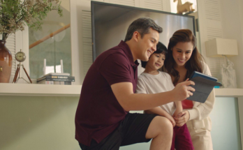PLDT Home #DoItBetter campaign with Toni Gonzaga and family.