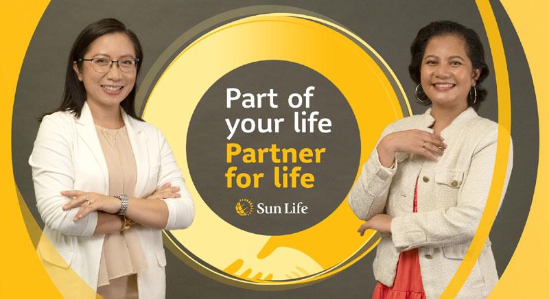 Sun Life advisor Buena is her client Alpha's Partner for Life