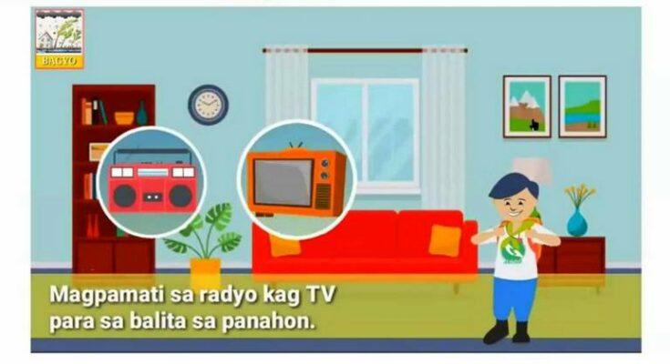 Iloilo City online learning on disaster preparedness.