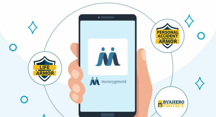 Sun Life products on Moneygment app
