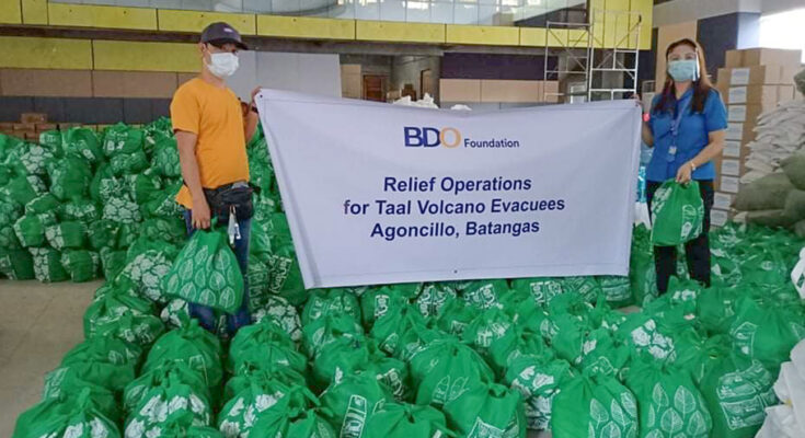 BDO Foundation continues to mount relief operations for underserved communities affected by disasters and the pandemic.