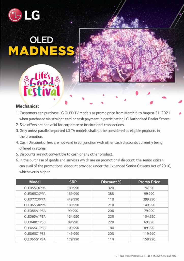 LG OLED TV Madness Promo and Mechanics