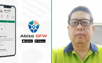 Abizo OFW App helps distressed overseas Filipino workers.