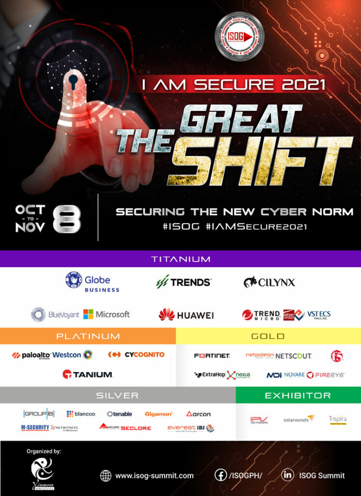 ISOG virtual cybersecurity campaign 2021