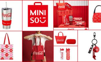 Miniso and Coca-cola collaboration