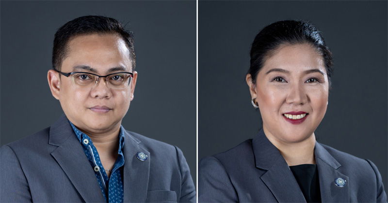 TMC Iloilo Chief Executive Officer Dr. Felix Ray Villa and Chief Medical Officer Dr. Debbie Noblezada-Uy