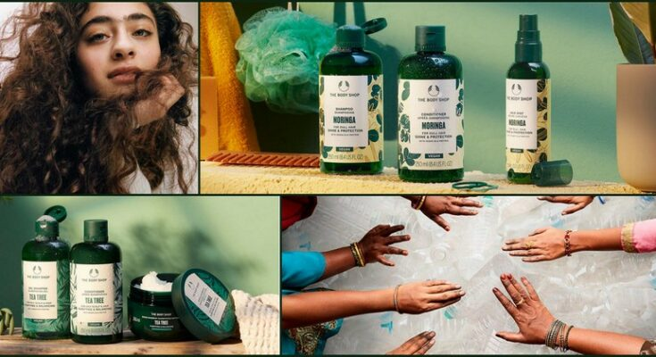 Vegan hair care by The Body Shop