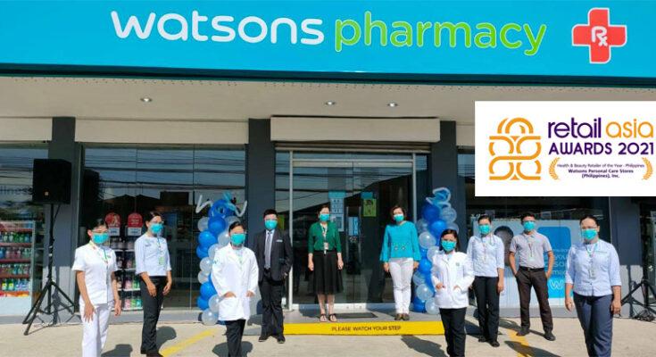 Watsons Pharmacy wins Retailer of the Year award