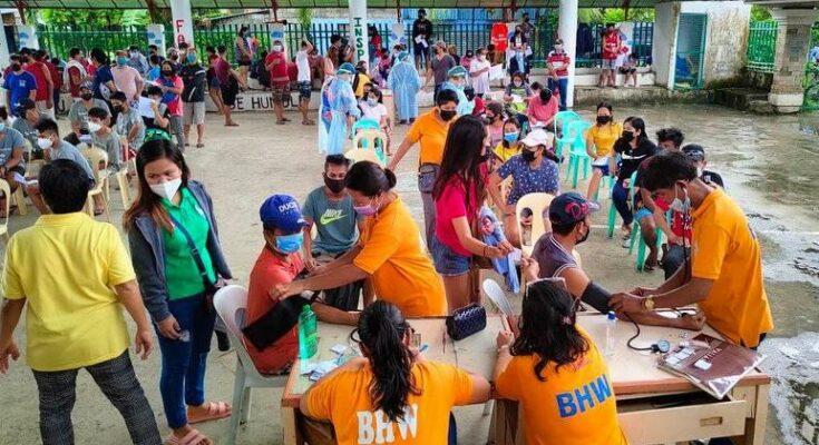 Iloilo Province barangay vaccination in Sta. Barbara
