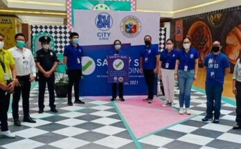 SM City Iloilo gets Safety Seal