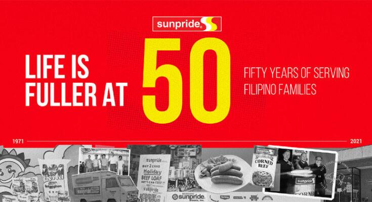 Sunpride foods celebrate 50th anniversary.