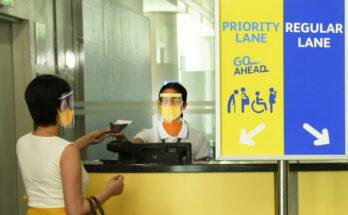 Cebu Pacific Go Ahead priority boarding.