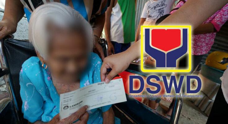 DSWD cash gift to centenarians.