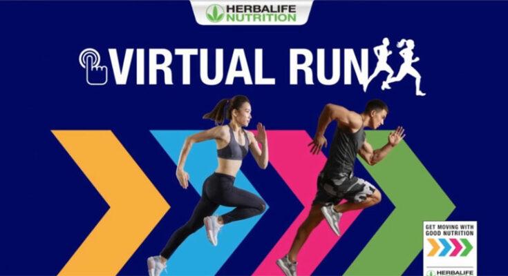 Herbalife Nutrition Virtual Run this October 2021