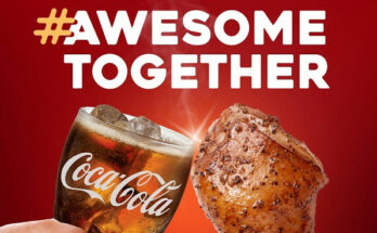 Kenny Rogers and Coke partnership