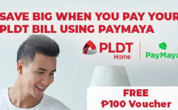 Pay your PLDT Home bill with Paymaya.